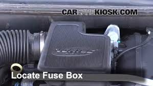 replace a fuse 2002 2009 gmc envoy 2006 gmc envoy slt 4 2l 6 cyl locate engine fuse box and remove cover