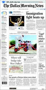 Newspaper First Page Template The Dallas Morning News Wikipedia