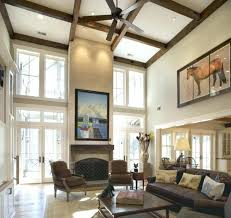 chandelier for cathedral ceiling living vaulted ceiling ideas for white living