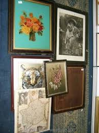 Lot-Art   A FRAMED PRINT OF A TIGER BY JULIETTE SMITH ALONG WITH A WOODEN  PICTURE FRAME PRINT OF A FLOWER AND A FINE ART SERIES PRINT YOU WON T TELL  WITH