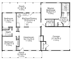 floor plans aflfpw12016 1 story cape cod home with 3 bedrooms 2 bathrooms and