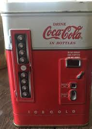 Coca Cola Bottle Vending Machine Cool Vintage Tin Box Coca Cola Beverage Toy Bottle Vending Machine Bank