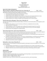 Resume Of Hr Recruiter Human Resources Generalist Resume Sample Hr