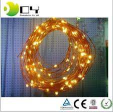 10m 100 Leds Solar Led String Strip Light Waterproof Copper Wire