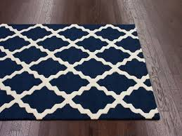 navy blue and white area rugs in striped rug home design ideas educonf inside 4