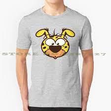 Kaus Lucu Musim Panas Marsupilami untuk Pria Wanita Huba Marsupilami Gambar  Doodle Lucu Mengagumkan Kawaii Ceria Warna warni Prancis|T-shirt