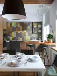 Kitchen Partition Wall Designs Exposed Concrete Walls Ideas Inspiration