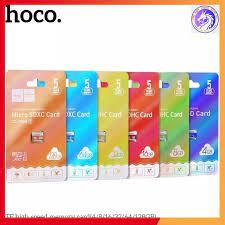 💦 Thẻ Nhớ Micro Sd Hoco 8Gb 16Gb 32Gb 64Gb Class 10 thẻ nhớ chuyên dụng  camera, tốc độ cao, siêu bền, 5 năm, 1 đổi 1