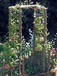 wooden arch kit garden archway