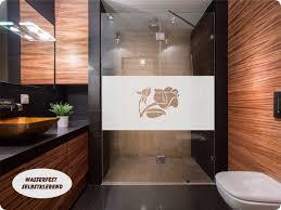 Glasdekorfole Sichtschutz Bad Wasserfeste Folie Dusche Tür
