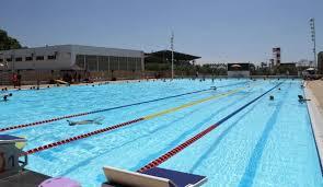 the outdoor pool at Centre Aquatique Grand Bleu, Cannes