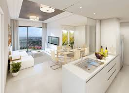 Living Dining Kitchen Room Design Marvellous The Fantastic Thing About A Kitchen Design With White