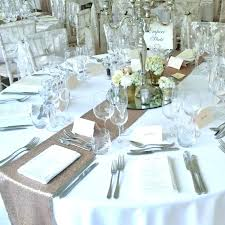 Round Table Settings For Weddings Table Setting Ideas For Graduation Party Dinner Decoration