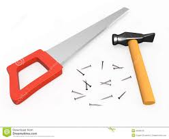 hand saw clipart. pin nails clipart saw #2 hand