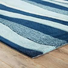 seascapes wave design coastal area rugs blue waves rug
