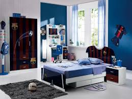 Fabulous Pictures Of Black And Blue Bedroom Design And Decoration Ideas :  Fantastic Boy Sport Black