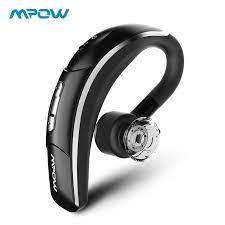MPOW Lưỡi Liềm Không Dây Tai Nghe Gọi Điện Thoại Rảnh Tay Bluetooth Tai Nghe  Chụp Tai Không Dây Tai Nghe Nhét Tai Với Pha Lê Mic Cho iPhone X/8/  7/6|headphones earbuds