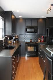 Kitchen With Black Cabinets By Bertch Kitchens Bertch Cabinetry