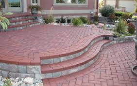 raised patio plan backyard ideas n80 backyard