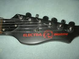 vintage 80 s westone guitar