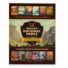 National Parks Posters Anderson Design Group 59 Illustrated National Parks Expanded Edition Nathan