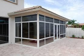 Enclosing A Patio To Make A Sunroom B58d On Modern Home Design Ideas