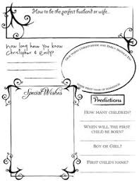 guest book template free wedding guest book pages page design from wedding prediction
