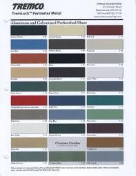 Tremco Vulkem 45 Ssl Color Chart Tremco Color Pack Chart