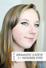 how to do a dramatic cat eye on hooded eyes makeup