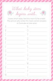 Simple Baby Shower Games Beautiful Free Baby Shower Game Printouts ...