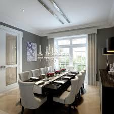 wimbledon hill park london transitional dining room