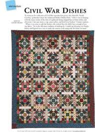 The Civil War Sewing Circle by Martingale | That Patchwork Place ... & Free Civil-War Quilt Pattern | Pattern: Civil War Dishes Adamdwight.com