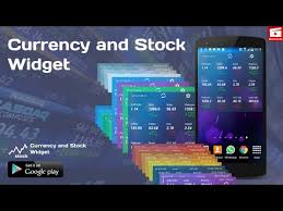 Currency And Stock Widget For Android Youtube