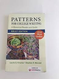 Patterns For College Writing Cool PATTERNS FOR College Writing Brief Edition A Rhetorical Reader