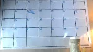 dry erase wall pops wpe0981 black calendar decal panels board organizer