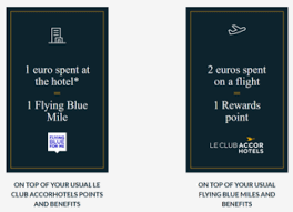 Flying Blue Points Chart Accor And Flying Blue Announce A New Partnership