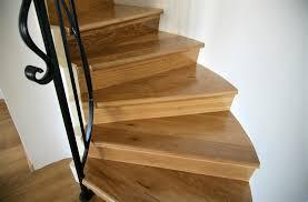 image of installing cork flooring on stairs