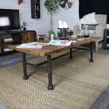 rustic industrial style coffee table melody maison diy rustic chic coffee table