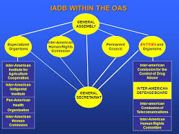 Iadb Organizational Chart Contributing To The Peace And Security Of The Hemisphere