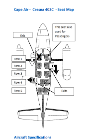 Cape Air Cessna 402 Seating Chart Kathryns Report 09 06 17