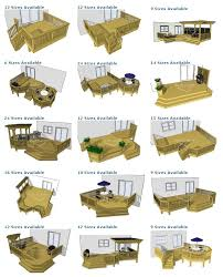 Backyard Deck Designs Plans Cool Inspiration Ideas
