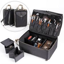new design partment makeup bag cosmetics organizer travelling bag