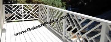 decorative railings. railing- modern set decorative railings o