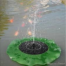 water pump solar power fountain pump for garden outdoor waterproof plants watering power fountain 1 4w lotus shaped high quality lotus shaped solar power