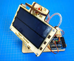 i made this up the other day and just posted it to instructables it s an active solar tracker using two servos and an arduino
