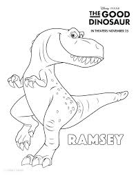 Dinosaur Coloring Pages With Names Dinosaurs Coloring Sheets The