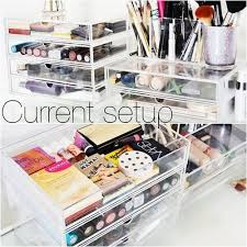 makeup overflowing organize your stash with this clear system