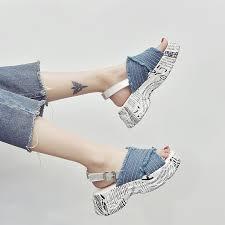 <b>Comfortable</b> shoes Net red <b>Roman sandals</b> female summer <b>new</b> ...