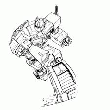 Transformers Kleurplaten Leuk Voor Kids