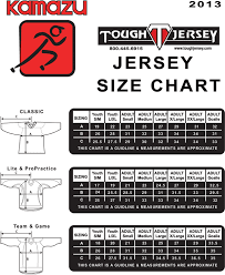 Nhl Jersey Size Chart Hockey Jersey Size 48 Medium